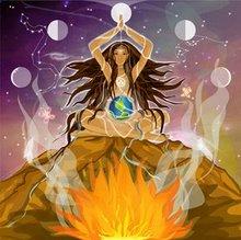 chamana mujer+cósmica